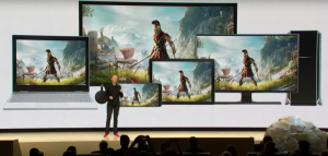 Google STADIA screens