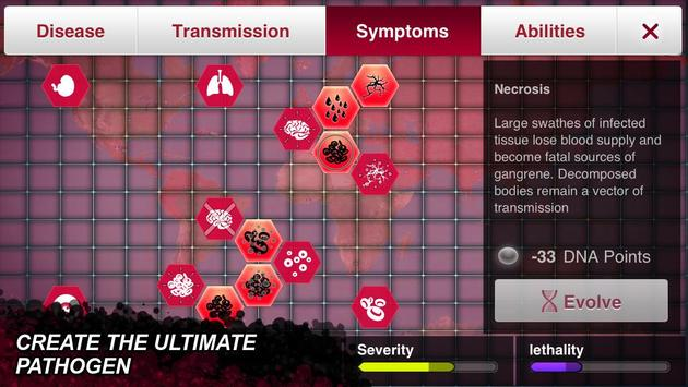 لعبة تفشي الوباء Plague inc evolve 1